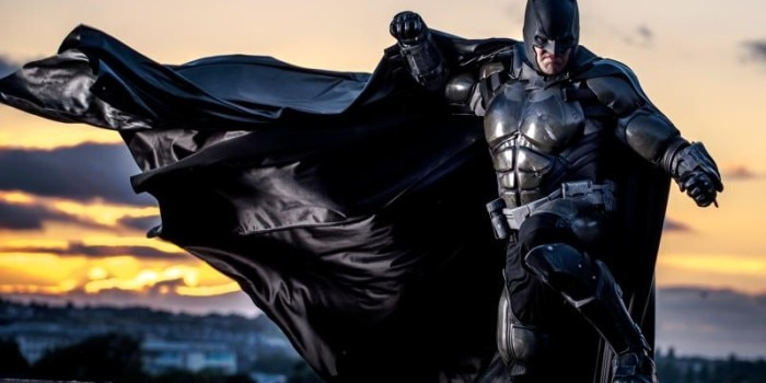 Julian Checkley's amazing Batman suit (Photo: Kamil Krawczak)