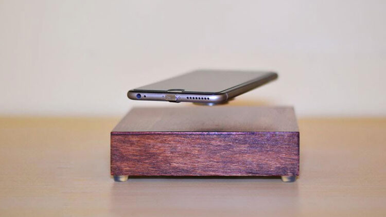 OvRcharge levitating wireless phone charger (Photo: AR Designs)