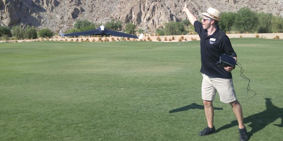 My first launch, effective if not graceful (Photo: Scott Tharler)