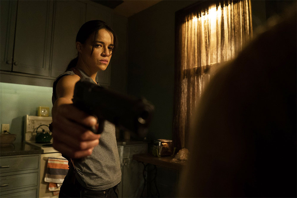 Michelle Rodriguez in ReAssignment