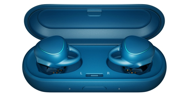 Samsung's sporty Gear IconX (Photo: Samsung Electronics)