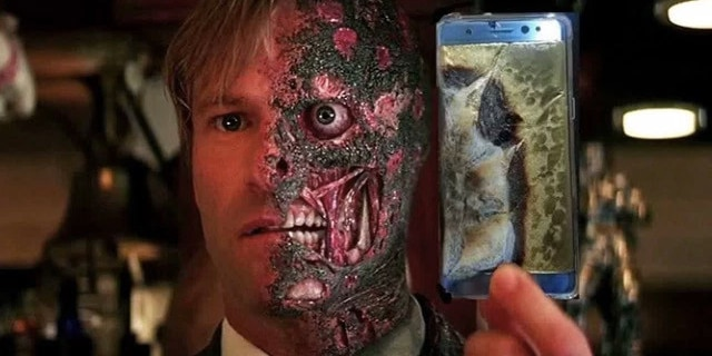 Samsung's investigating the potential faultiness of new Note 7 models (Photo: Imgur via BroBible)