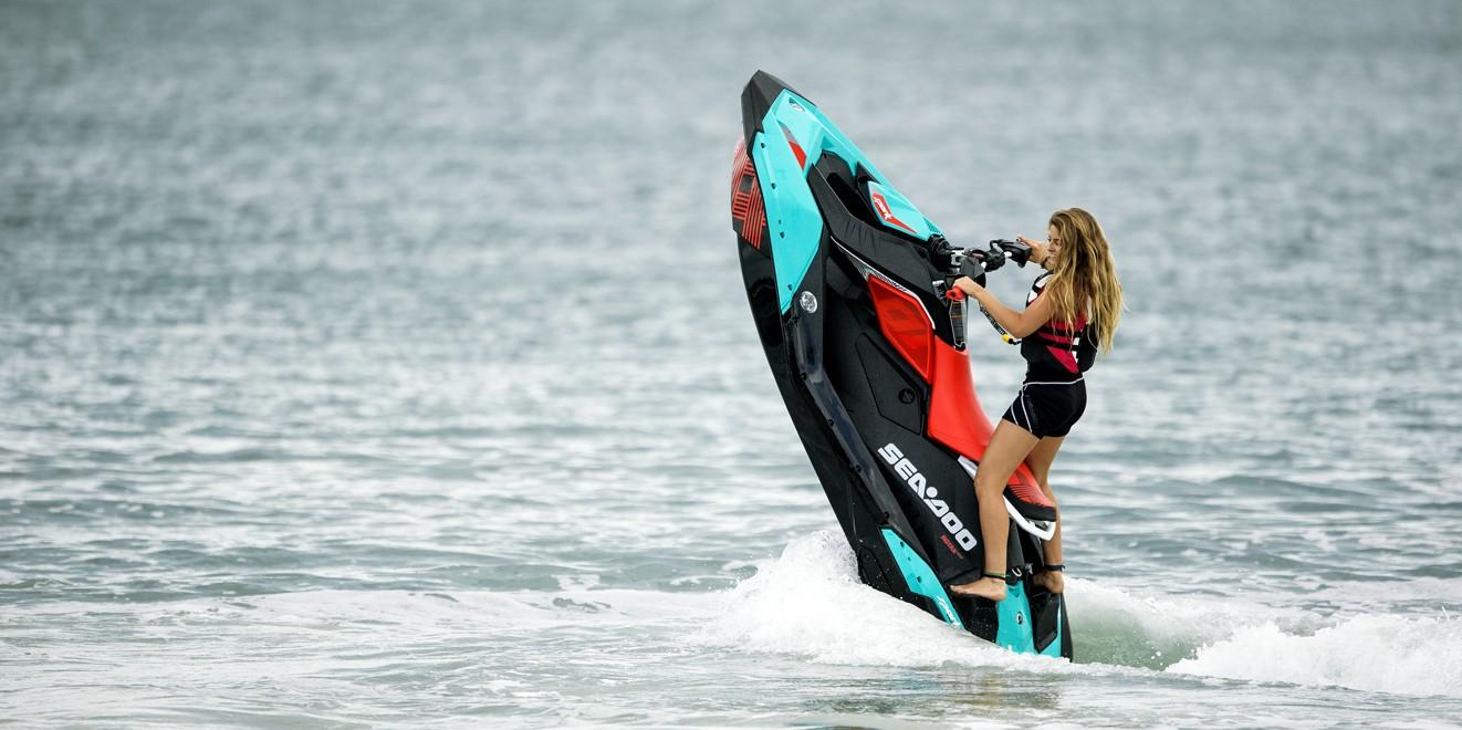 Sea-Doo's Spark Trixx is super playful (Photo: Sea-Doo)