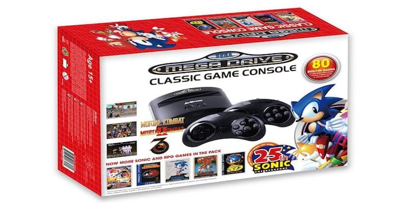 The Sonic 25th Anniversary Edition includes 80 games (Photo: AtGames Digital Media)