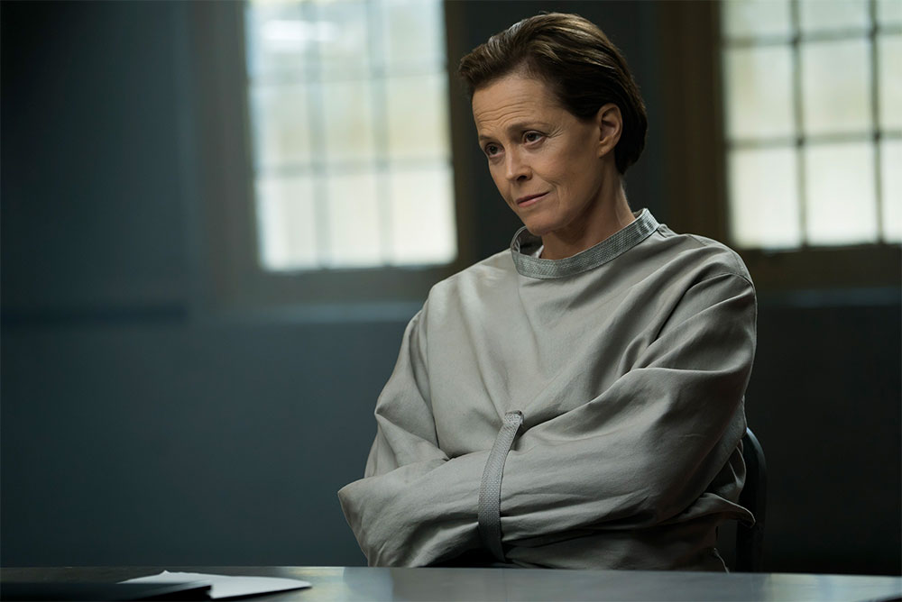 Sigourney in ReAssignment