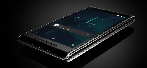 Beyond super security, it boasts big audio and a dazzling screen (Photo: Sirin Labs)
