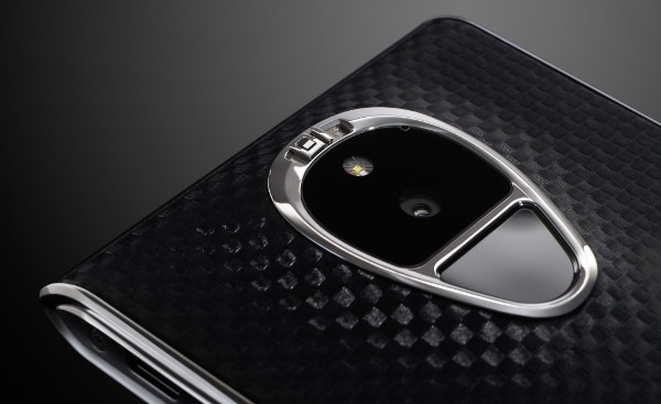 A diamond-studded switch enables ultimate privacy (Photo: Sirin Labs)