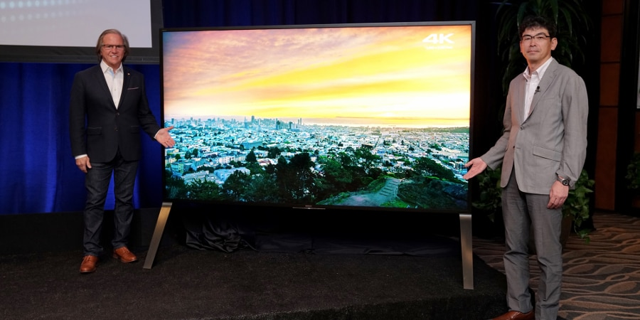 Sony's 100-inch Z9D 4K HDR with Android TV (Photo: Sony)