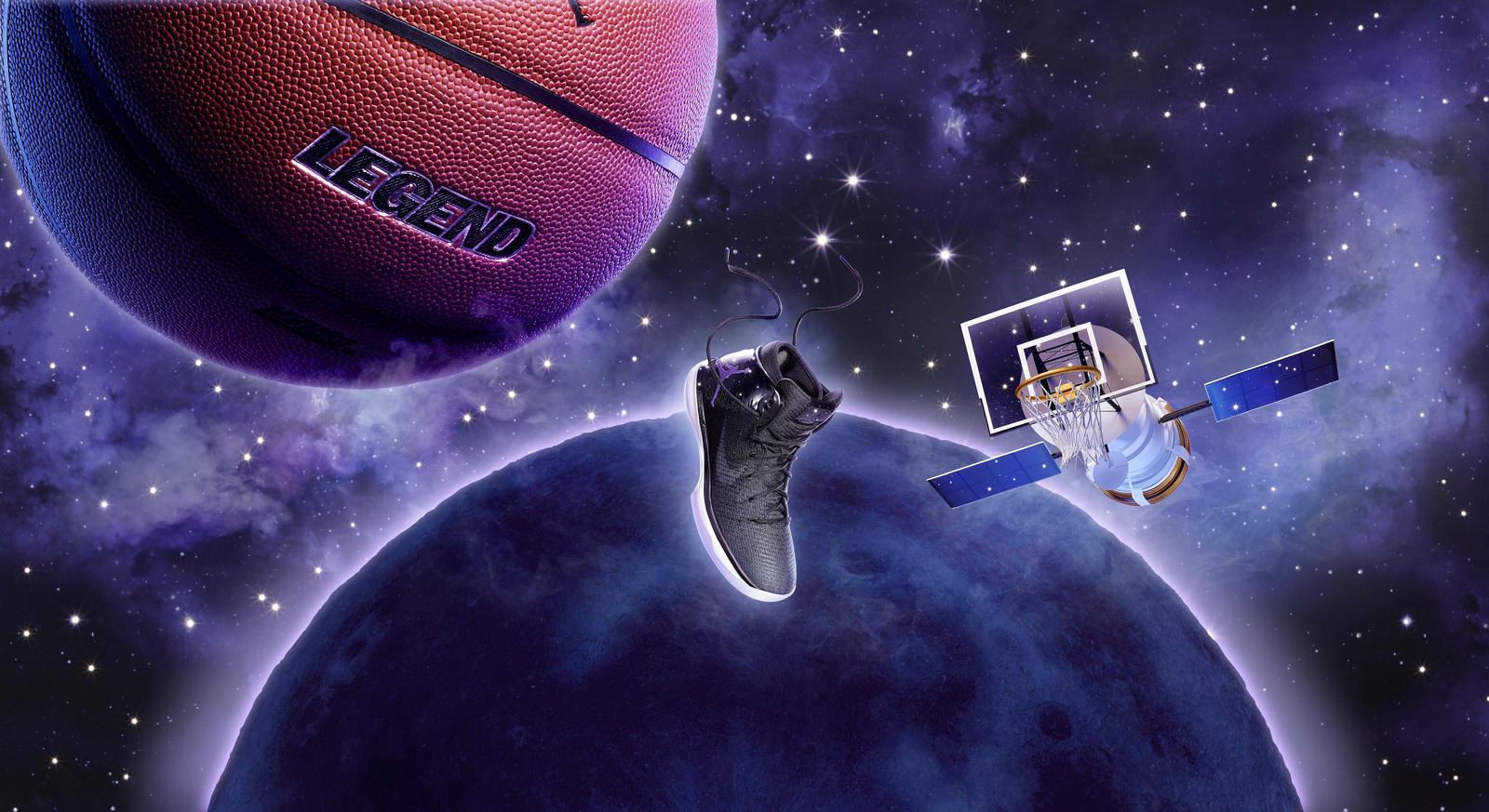 Thanks for the new Jordans, Space Jam! (Photo: Nike)