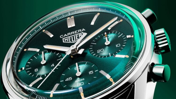 Tag Heuer Carrera Green Special Edition Promo