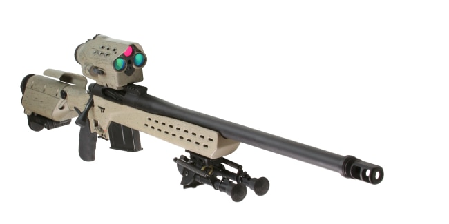 M1400 EMR locks targets at 0.8 miles moving 20MPH (Photo: TrackingPoint)