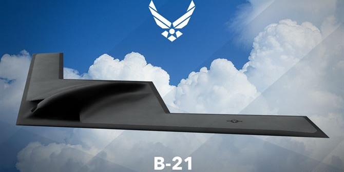 The B-21 Raider Stealth Bomber (Photo: U.S. Air Force)