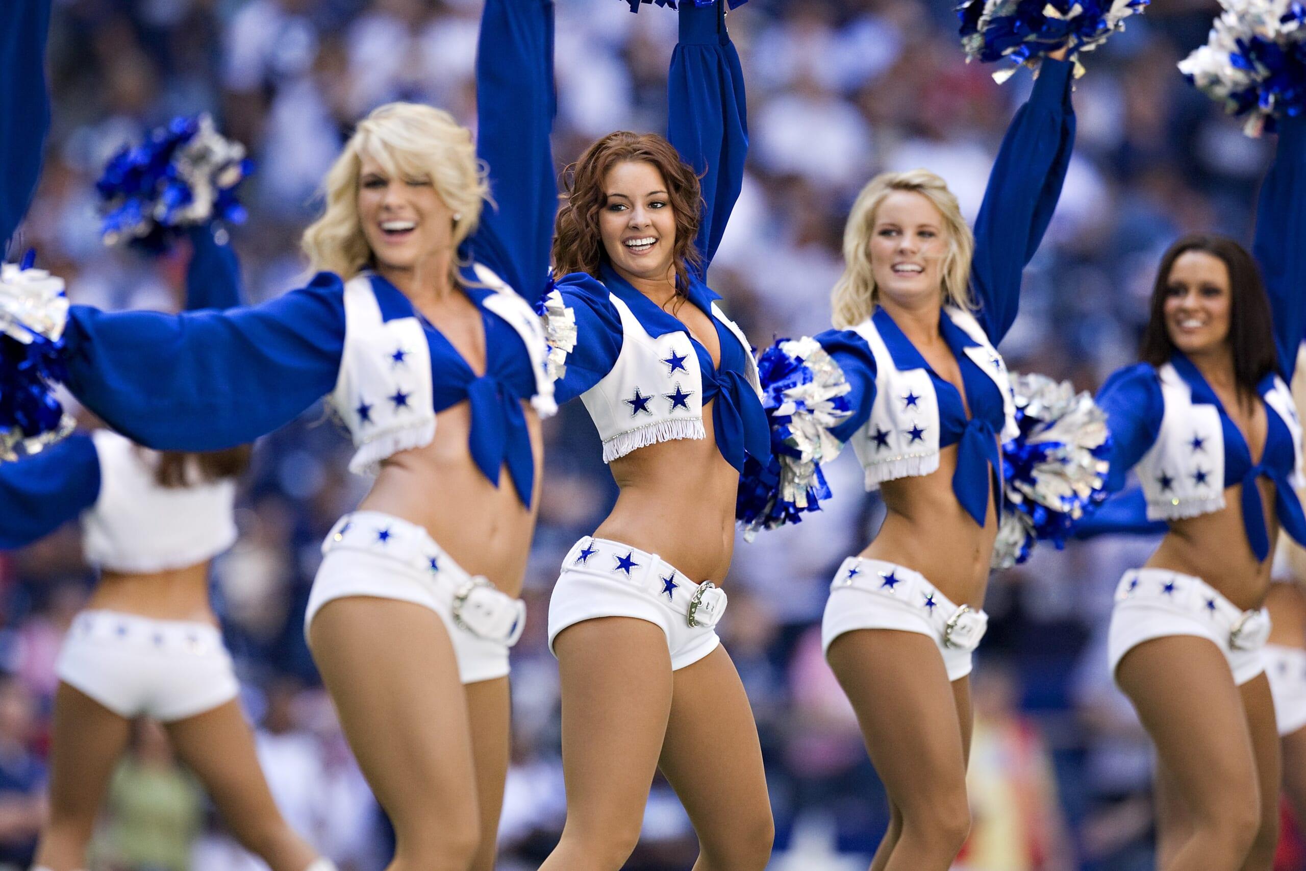 Dallas Cowboys Cheerleaders [Getty/Wesley Hitt]